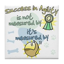 Success in Agility Tile Coaster