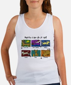 Mutts Do It All Women's Tank Top
