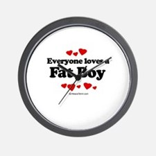 Everyone loves a Fat Boy ~  Wall Clock