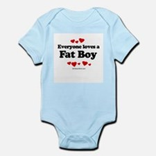 Everyone loves a Fat Boy ~  Infant Creeper