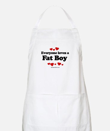 Everyone loves a Fat Boy ~  BBQ Apron