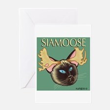 Siamoose - Greeting Card