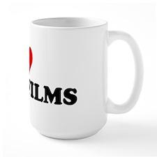 I Love Indie Films Mug