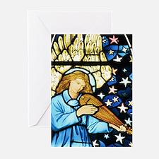 William Morris angel Greeting Cards (Pk of 20)