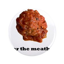 """Cute Meat 3.5"""" Button (100 pack)"""
