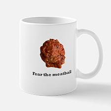 Fear the meatball no bac Mugs