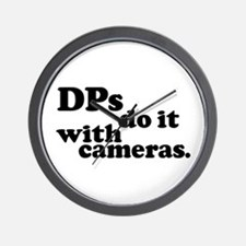 DPs do it with cameras. Wall Clock