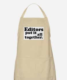 Editors put it all together. BBQ Apron