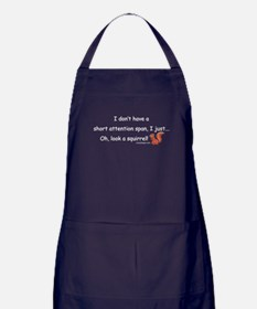 Attention Span Squirrel Apron (dark)