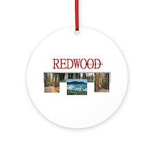 Redwood Americasbesthistory.com Ornament (Round)