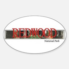 Redwood Americasbesthistory.com Decal