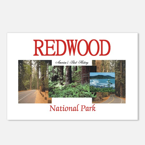 Redwood Americasbesthisto Postcards (Package of 8)