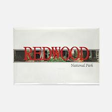 Redwood Americasbesthistory.com Rectangle Magnet
