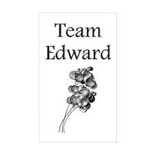 """Team Edward"" Rectangle Decal"