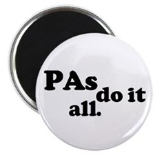 """PAs do it all. 2.25"""" Magnet (10 pack)"""