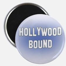 "Hollywood Bound 2.25"" Magnet (100 pack)"