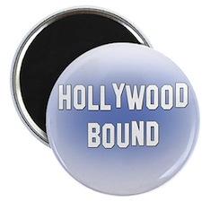 "Hollywood Bound 2.25"" Magnet (10 pack)"