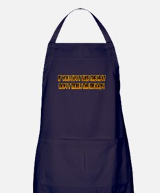 If you can't stand the heat.. Apron (dark)