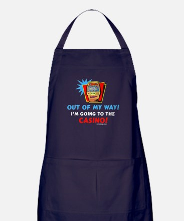 Out of my way! Apron (dark)