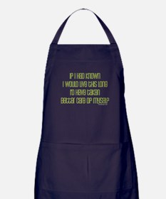If I had known I would have.. Apron (dark)