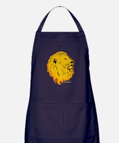 Lion Flame Art Apron (dark)