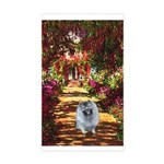 The Path - Keeshond (F) Sticker (Rectangle)