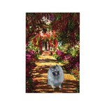 The Path - Keeshond (F) Rectangle Magnet