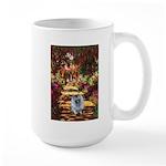 The Path - Keeshond (F) Large Mug