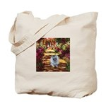 The Path - Keeshond (F) Tote Bag