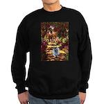The Path - Keeshond (F) Sweatshirt (dark)