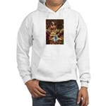 The Path - Keeshond (F) Hooded Sweatshirt