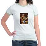 The Path - Keeshond (F) Jr. Ringer T-Shirt