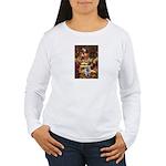 The Path - Keeshond (F) Women's Long Sleeve T-Shir