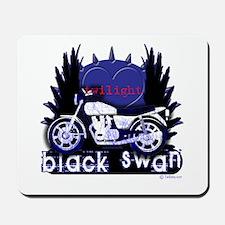 Black Swan Motorcycles Twilight Blue Mousepad