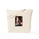 Accolade - Two Keeshonds Tote Bag