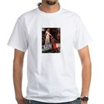 Accolade - Two Keeshonds White T-Shirt