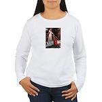Accolade - Two Keeshonds Women's Long Sleeve T-Shi