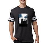 Mighty Penguin Organic Men's Fitted T-Shirt (dark)