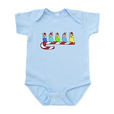 Budgies- Christmas Infant Bodysuit