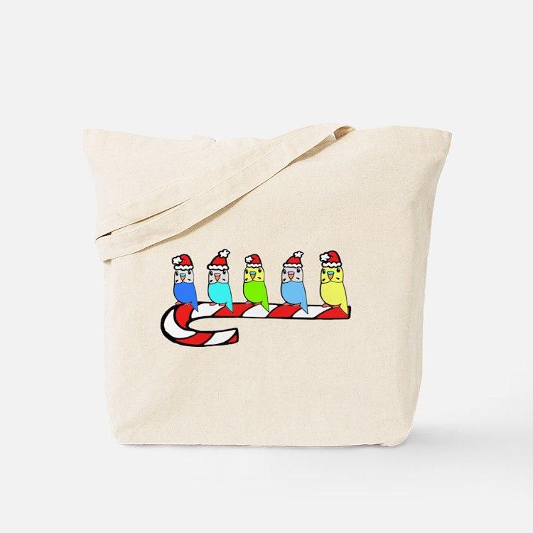 Budgies- Christmas Tote Bag