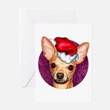 Chihuahua Claus Greeting Cards (Pk of 10)