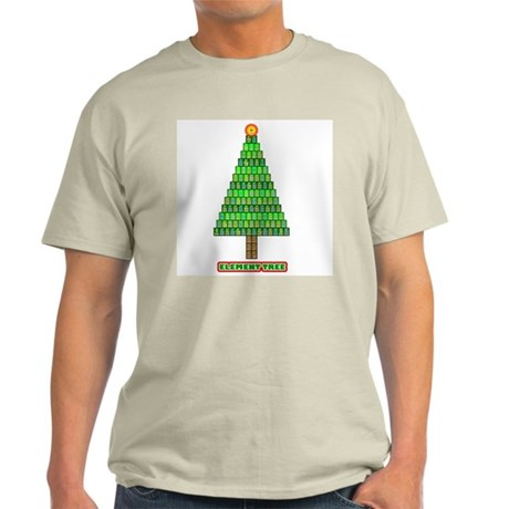 Element Tree in color Light T-Shirt