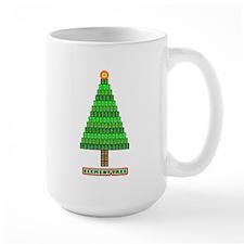 Element Tree black and white Mug