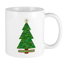 chemist's tree green tree Mug