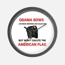 BOWS TO EVERTHING BUT OUR FLA Wall Clock