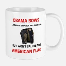 BOWS TO EVERTHING BUT OUR FLA Mug