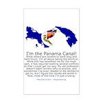 Panama Canal Mini Poster Print