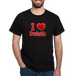 I Love Duluth Dark T-Shirt