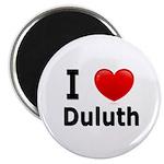 I Love Duluth Magnet