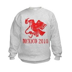 Mexico - Eagle - Red Sweatshirt